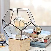 Для дома и интерьера handmade. Livemaster - original item Table lamp: Lamp-night light retro lamp gift for a man. Handmade.