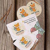 Визитки ручной работы. Ярмарка Мастеров - ручная работа Бирки,визитки,наклейки. Handmade.