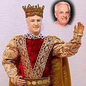 """Куклы и игрушки ручной работы. Ярмарка Мастеров - ручная работа """"Король Артур""""портретная полушарнирная кукла. Handmade."""