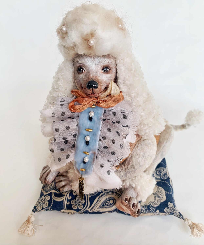 Артемон. Фарфоровая кукла. Коллекция «Золотой Ключик», Интерьерная кукла, Кемерово,  Фото №1