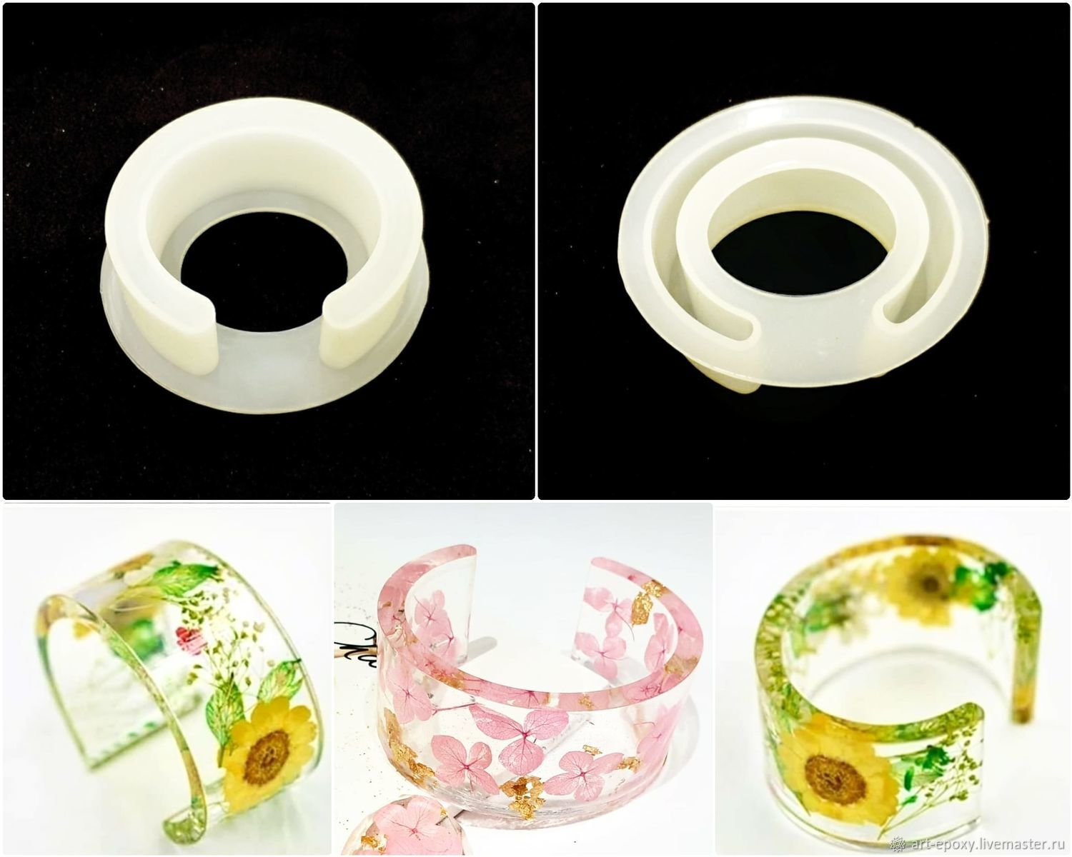 Mold ' Bracelet', Molds for making flowers, Volgograd,  Фото №1