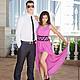 """Платья ручной работы. Ярмарка Мастеров - ручная работа. Купить Платье """"Розовый фламинго"""". Handmade. Розовый, Платье нарядное"""