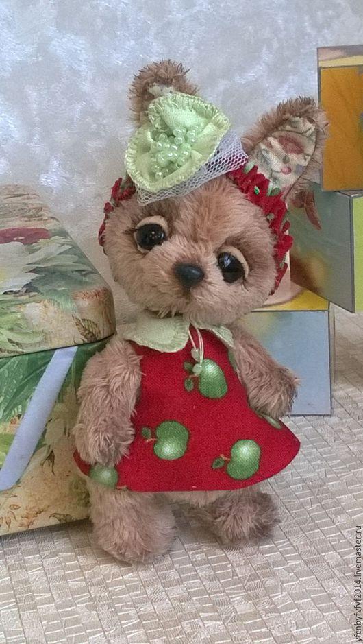 Мишки Тедди ручной работы. Ярмарка Мастеров - ручная работа. Купить Зайка Мила. Handmade. Бежевый, сувениры и подарки, нежная