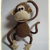 Куклы и игрушки ручной работы. Ярмарка Мастеров - ручная работа Обезьянка Талисман. Handmade.