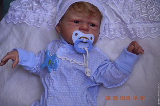 Куклы-младенцы и reborn ручной работы. Ярмарка Мастеров - ручная работа. Купить Кукленок Александр. Handmade. Бежевый