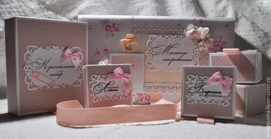 """Подарки для новорожденных, ручной работы. Ярмарка Мастеров - ручная работа. Купить Мамины сокровища для девочки """"Shabby Chic"""". Handmade. для девочки"""