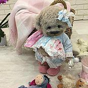 Мишки Тедди ручной работы. Ярмарка Мастеров - ручная работа Медвежонок тедди Альбертина. Handmade.