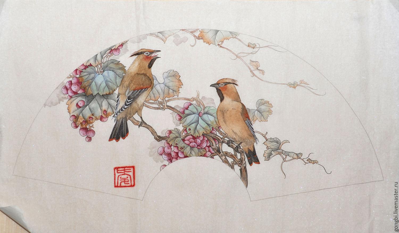 Китайские картины цветы и птицы купить камни самоцветы купить в омске