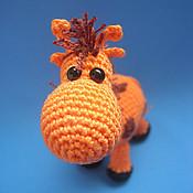 Куклы и игрушки ручной работы. Ярмарка Мастеров - ручная работа жирафик Егорка. Handmade.