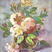 Картины и панно ручной работы. Ярмарка Мастеров - ручная работа Голландские розы. Handmade.