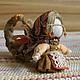 Народные куклы ручной работы. Ярмарка Мастеров - ручная работа. Купить Долюшка. Handmade. Оберег, кукла в подарок, доля, лён