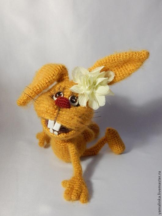 """Вязание ручной работы. Ярмарка Мастеров - ручная работа. Купить Мастер класс """"Солнечный зайчик"""". Handmade. Оранжевый, подарок для влюбленных"""
