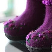 """Обувь ручной работы. Ярмарка Мастеров - ручная работа Валенки детские """"Платочные"""". Handmade."""