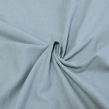 Материалы для творчества ручной работы. Ярмарка Мастеров - ручная работа Костюмно-плательная ткань, цвет приглушенный серо-голубой. Handmade.
