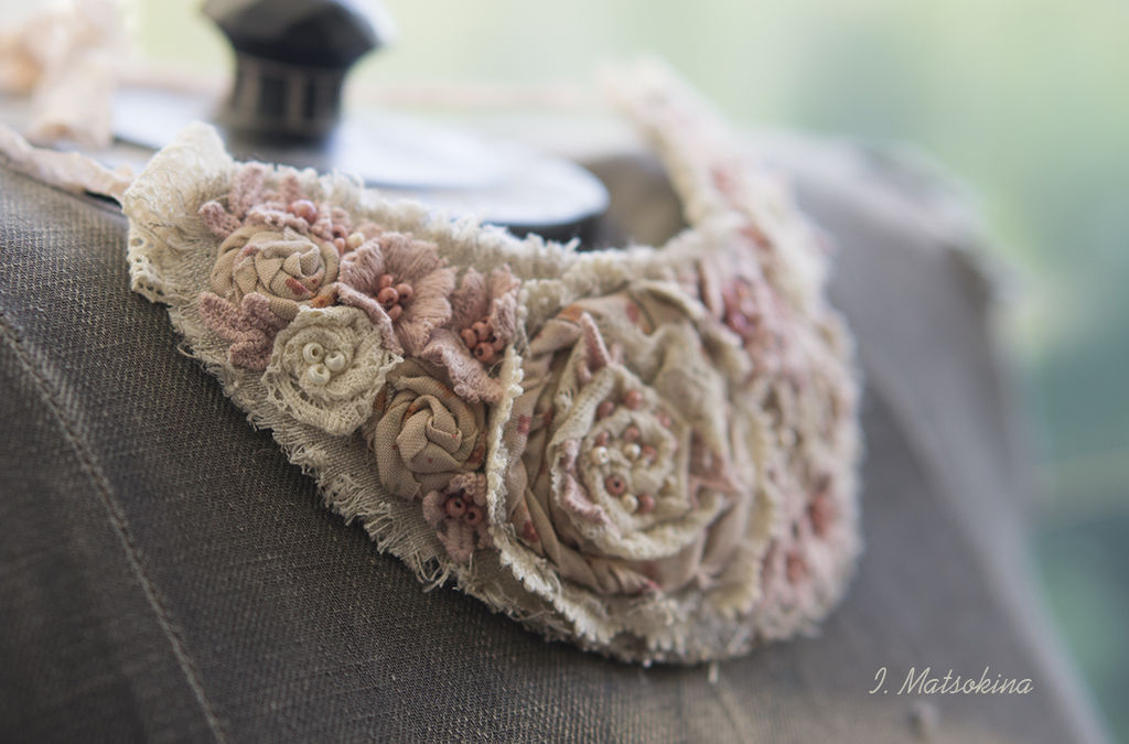 The Collar Is Powdery Rose, Necklace, Moscow,  Фото №1
