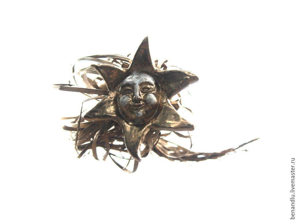 Золотая комета. Декор интерьера, Новогодние композиции, Санкт-Петербург,  Фото №1