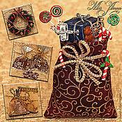 Куклы и игрушки ручной работы. Ярмарка Мастеров - ручная работа Новогодние подарки (масштаб 1:12). Handmade.