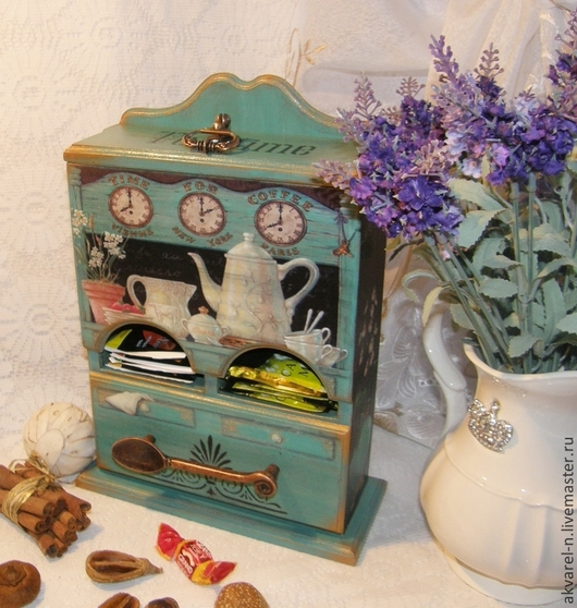 """Кухня ручной работы. Ярмарка Мастеров - ручная работа. Купить Чайный домик """"Tea time"""". Handmade. Чайный домик"""