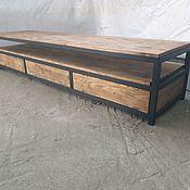 Для дома и интерьера handmade. Livemaster - original item thumbs: Loft TV stand