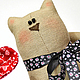 Ароматизированные куклы ручной работы. Ярмарка Мастеров - ручная работа. Купить Кот летящий. Handmade. Игрушка, 8 марта, запах
