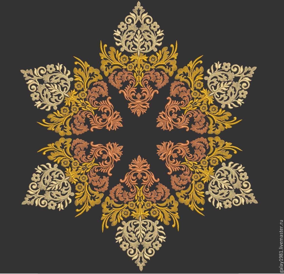 Машинная вышивка орнамент и узоры