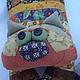 Текстиль, ковры ручной работы. Подушка-кот.. Лариса Ткаченко. Ярмарка Мастеров. Лоскутное шитье, подарок на крестины