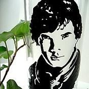 Посуда ручной работы. Ярмарка Мастеров - ручная работа Шерлок стакан или кружка. Handmade.