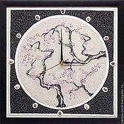"""Для дома и интерьера ручной работы. Ярмарка Мастеров - ручная работа """"ВОСТОЧНЫЙ МОТИВ"""" из песка авторские часы. Handmade."""