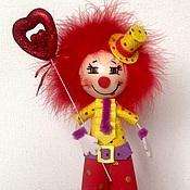 Куклы и игрушки ручной работы. Ярмарка Мастеров - ручная работа Клоун Валентин. Handmade.
