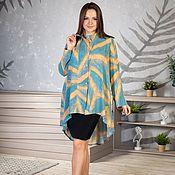 Одежда handmade. Livemaster - original item Viscose blouse