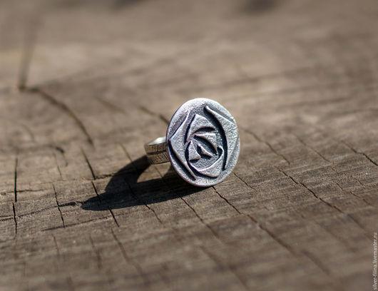 """Кольца ручной работы. Ярмарка Мастеров - ручная работа. Купить кольцо """"Роза"""", серебро. Handmade. Серебряный, интересное украшение, луна"""