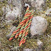 Фен-шуй и эзотерика handmade. Livemaster - original item Candle-energy of luck twisted. Handmade.