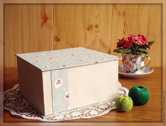 Шкатулки ручной работы. Ярмарка Мастеров - ручная работа. Купить Шкатулка-коробка квадратная для хранения.. Handmade. Шкатулка ручной работы