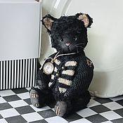 Куклы и игрушки ручной работы. Ярмарка Мастеров - ручная работа Котик Пики. Handmade.