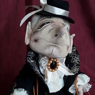 Куклы и игрушки ручной работы. Ярмарка Мастеров - ручная работа Шапокляк. Handmade.