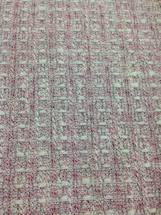 Шитье ручной работы. Ярмарка Мастеров - ручная работа. Купить Твид - Шанель, Италия. Handmade. Бледно-розовый, женская одежда