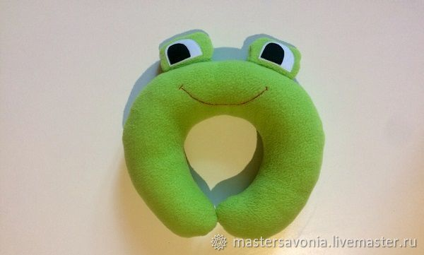 Pillow under the neck ' Frog', Pillow, Novosibirsk,  Фото №1
