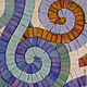 Зеркала ручной работы. зеркало с мозаичной рамкой. Мозаика&роспись (mosaicdecor). Интернет-магазин Ярмарка Мастеров. Зеркало в ванную комнату, Декор