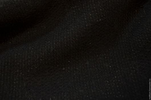 Шитье ручной работы. Ярмарка Мастеров - ручная работа. Купить Ткань пальтовая. Италия.. Handmade. Черный, интернет-магазин тканей