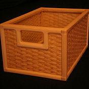 Для дома и интерьера ручной работы. Ярмарка Мастеров - ручная работа Плетеный ящик. Handmade.