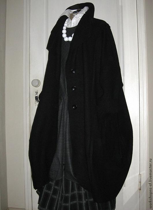 Верхняя одежда ручной работы. Ярмарка Мастеров - ручная работа. Купить пальто БОХО. Handmade. Черный, бохо-стиль