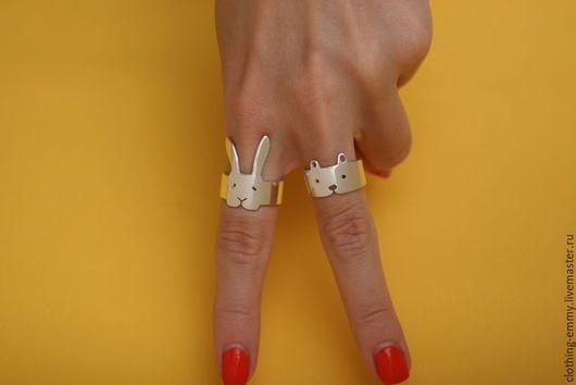 Кольца ручной работы. Ярмарка Мастеров - ручная работа. Купить Колечко Мишка. Handmade. Кольцо, подарок, кольцо серебряное