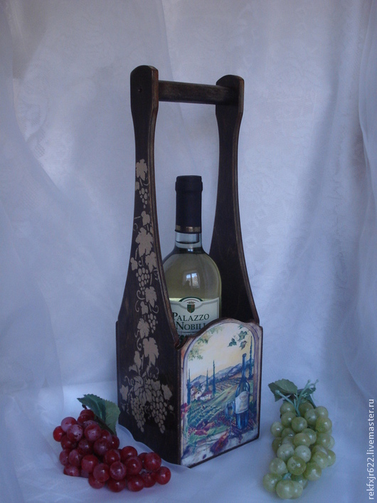 короб для вина Вечер в Тоскане