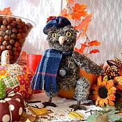 Куклы и игрушки ручной работы. Ярмарка Мастеров - ручная работа Мудрая сова -фотограф. Handmade.