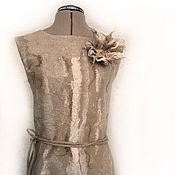 """Одежда ручной работы. Ярмарка Мастеров - ручная работа Платье войлочное """"Природная мелодия"""". Handmade."""