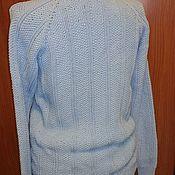 Одежда ручной работы. Ярмарка Мастеров - ручная работа Водолазка мужская вязания из хлопка. Handmade.