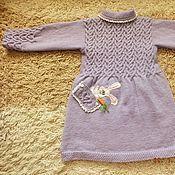 Работы для детей, handmade. Livemaster - original item coat Masha in Wonderland knitted children`s author. Handmade.
