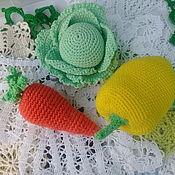 Куклы и игрушки handmade. Livemaster - original item Educational toys. vegetables and fruits. Handmade.