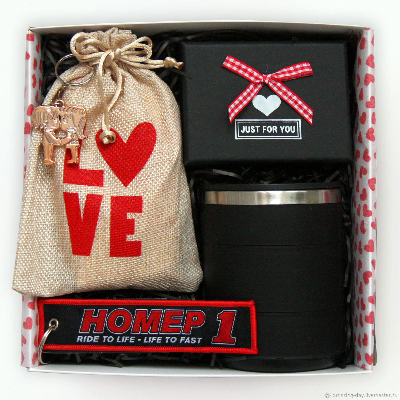 Мужской подарок к празднику. Giftbox#79, Подарки на 23 февраля, Москва,  Фото №1