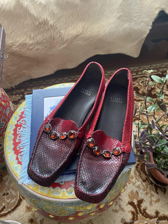 Loafers: Stuart Weitzman Vintage, Vintage shoes, Vladivostok,  Фото №1